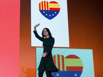 Inés Arrimadas, candidata de Ciudadanos a la Presidencia de la Generalitat
