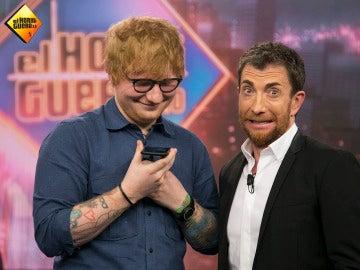 Ed Sheeran y Pablo Motos en 'El Hormiguero 3.0'.