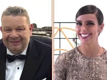 Cristina Pedroche y Alberto Chicote se enfrentan al test más divertido sobre la Nochevieja