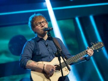 Ed Sheeran canta en directo en 'El Hormiguero 3.0'.