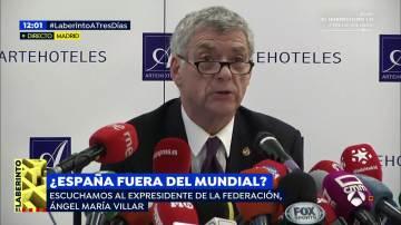 Ángel María Villar, expresidente de la RFEF