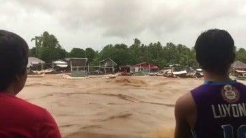 Al menos 26 muertos y 43 desaparecidos por la tormenta Kai-Tak en Filipinas