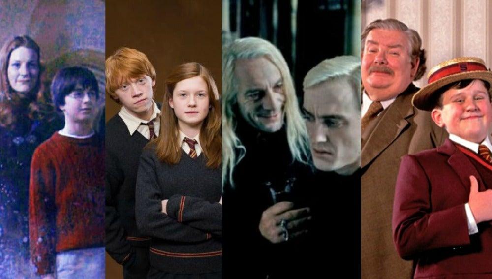 Las familias de 'Harry Potter'
