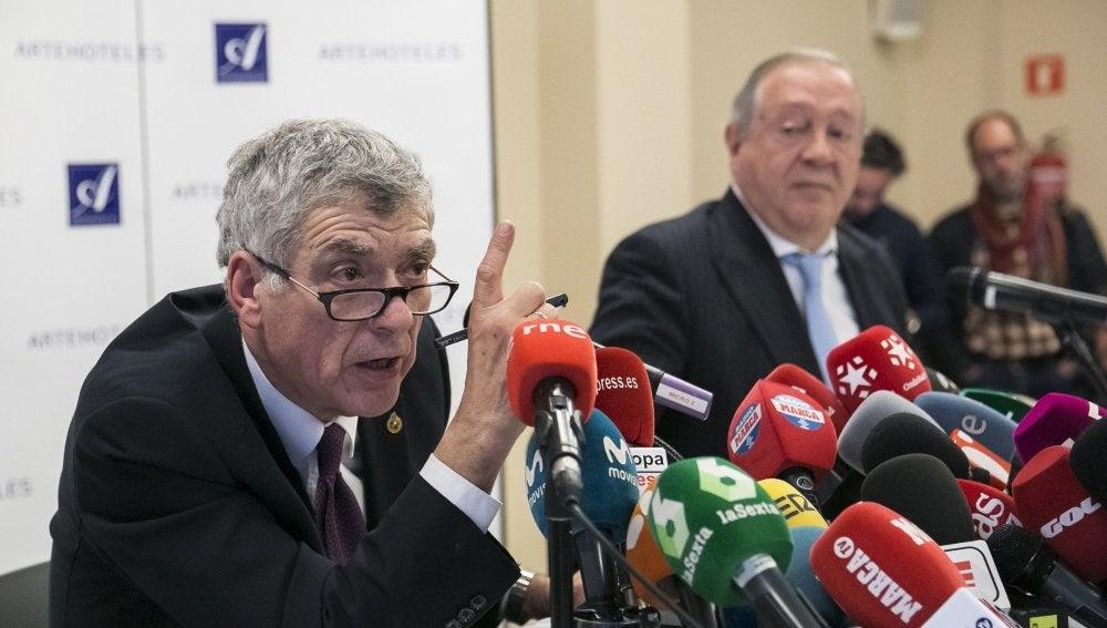 El expresidente de la RFEF, Ángel María Villar
