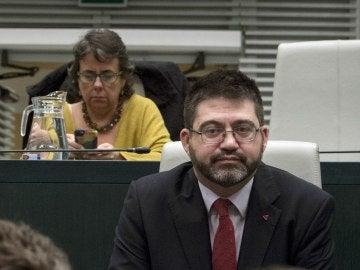 Carlos Sánchez Mato, durante el pleno del Ayuntamiento
