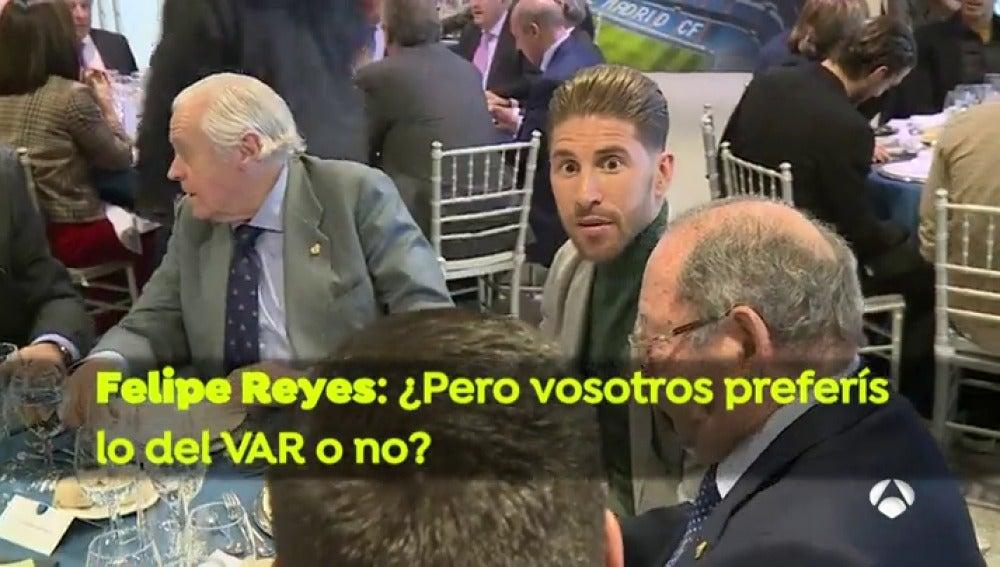 """Sergio Ramos, sobre el VAR: """"Yo lo prefiero, pierde un poco la esencia pero al final es lo más justo"""""""