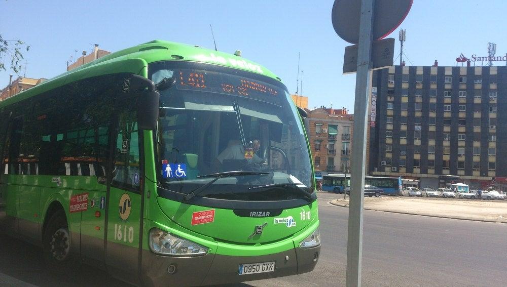 Autobús interurbano de Madrid