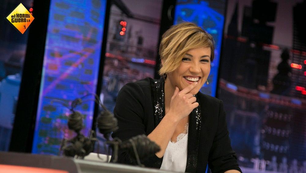 Cristina Pardo en 'El Hormiguero 3.0'.