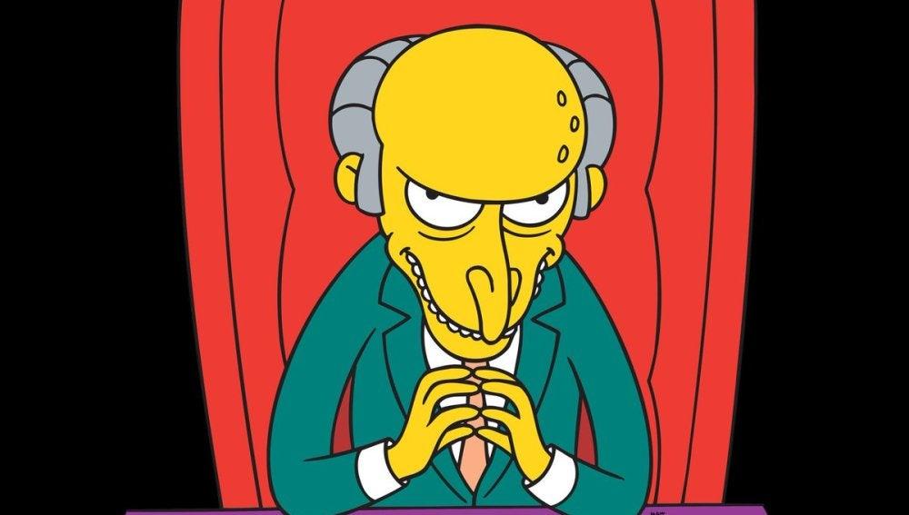 El señor Burns en 'Los Simpson'