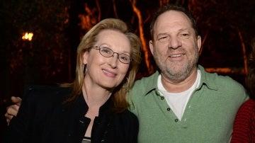 Meryl Streep y Harvey Weinstein