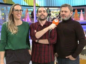 Amaya Valdemoro, Dani Mateo y Miki Nadal, protagonistas del especial ACNUR
