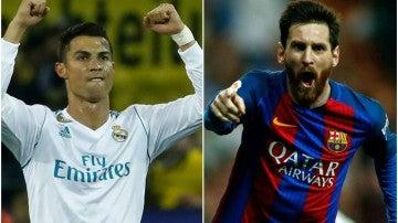 Cristiano y Messi se juegan ser el máximo goleador del año