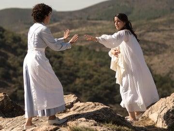 Raquel se enfrenta a Pilar en una terrible lucha de celos y locura