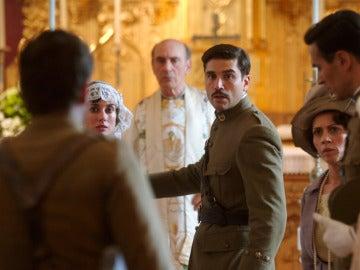 Un grito desesperado irrumpe en la boda de Fidel y Susana