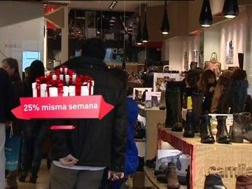 Las compras navideñas, a última hora