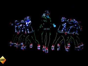 'El Hormiguero 3.0' homenajea a Hugh Jackman con un espectáculo de luces y color