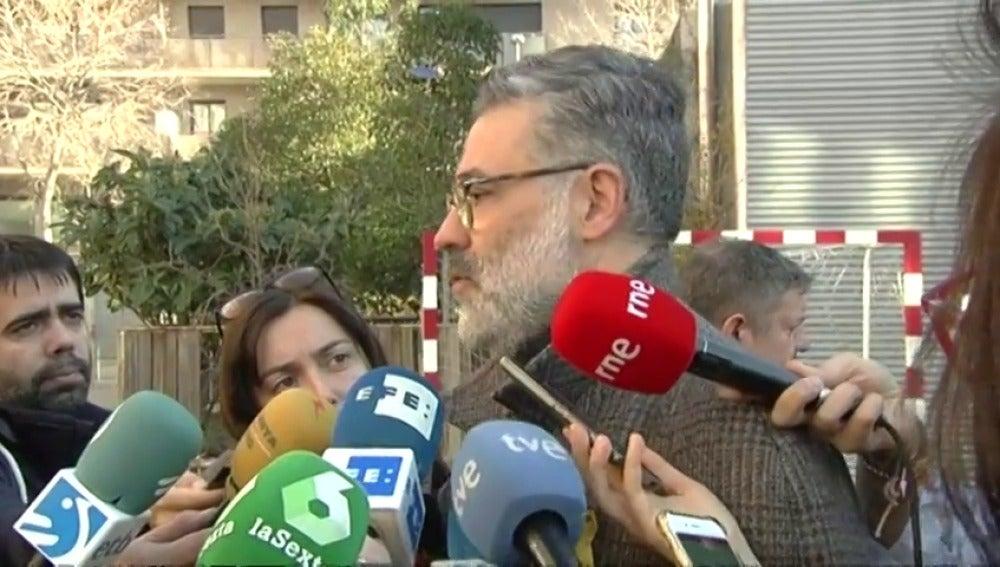 """Carles Riera: """"Hacemos una llamada a que la población de Cataluña vote República"""""""