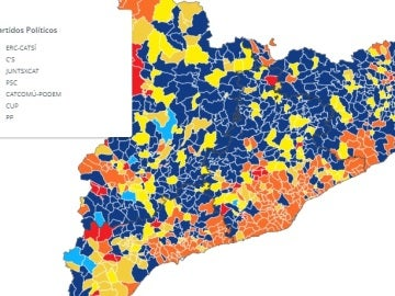 Resultados elecciones 21D, municipio a municipio