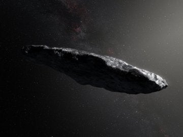 Aspecto del objeto interestelar 'Oumuamua