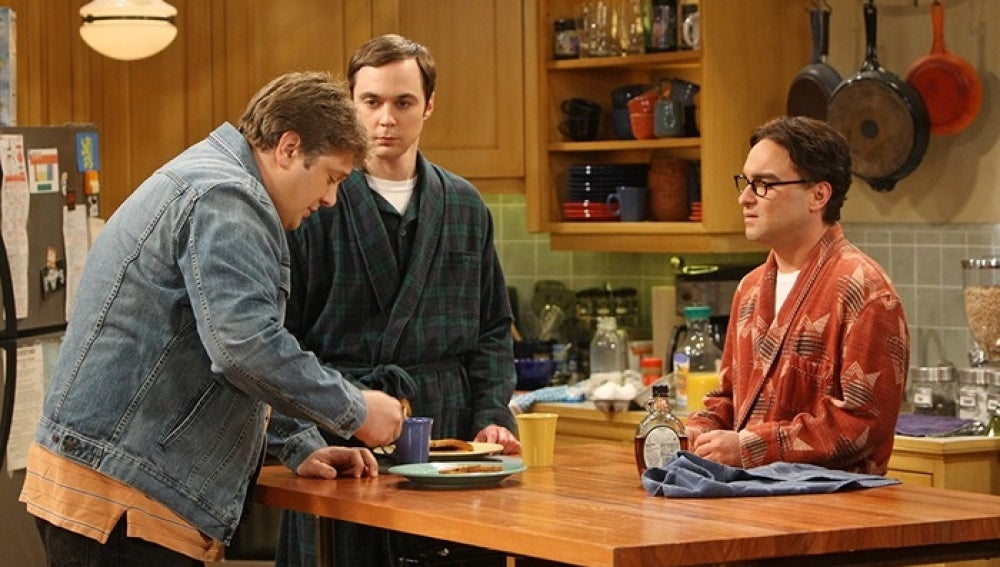 Sheldon y Leonard en 'The Big Bang Theory'