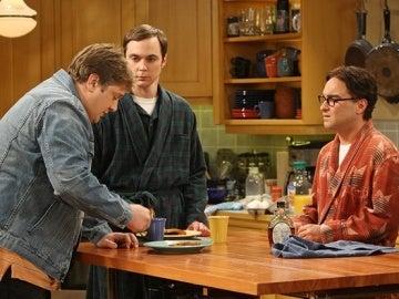 Sheldon y Leonard en 'The Big Bang Theory'