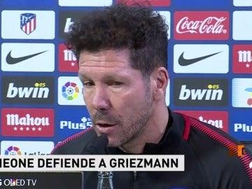 """Simeone: """"Vietto no marca y le critican, Torres hace pocos goles pero es el ídolo; la gente va por sentimientos"""""""