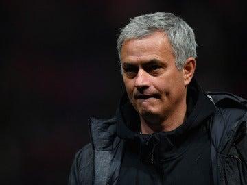 José Mourinho, en el partido ante el Bristol