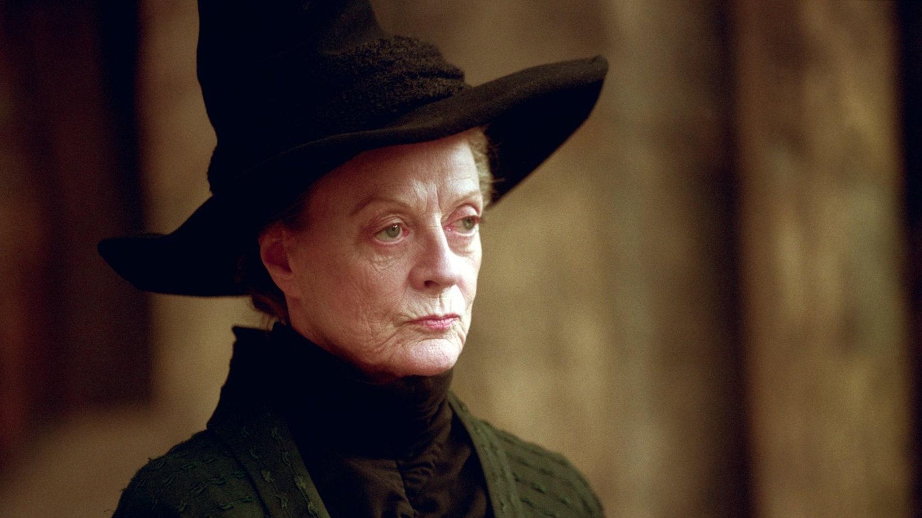 La profesora Minerva McGonagall de 'Harry Potter'