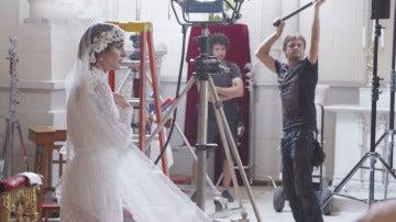 El vestido de Susana Márquez al detalle