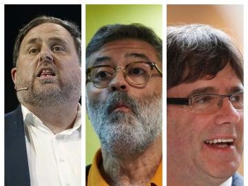 Líderes de partidos independentistas