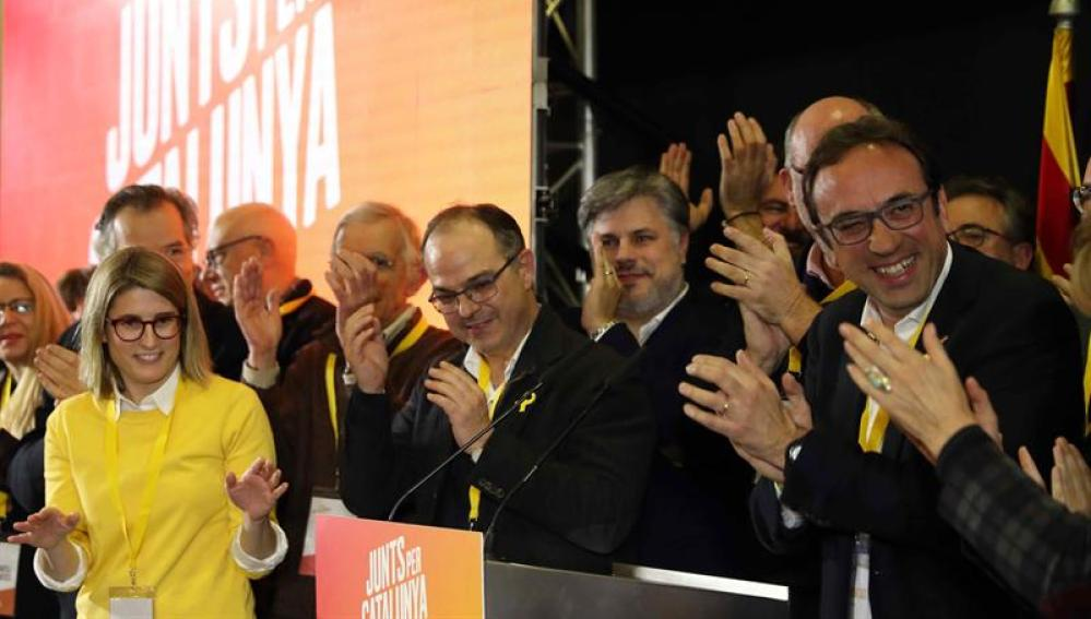 Miembros de Junts per Catalunya