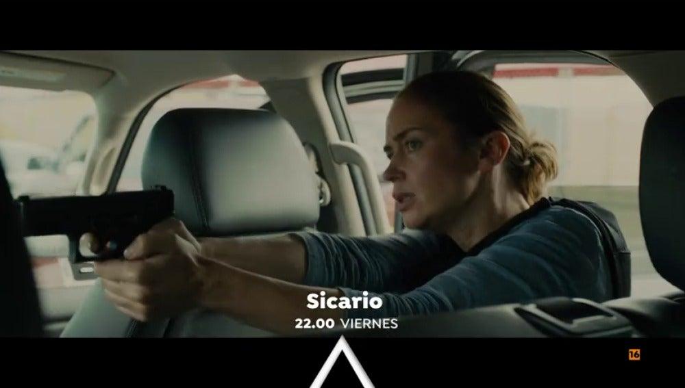 Antena 3 emite 'Sicario' con Emily Blunt