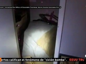 La Policía estadounidense rescata a un niño de cuatro años que vivía encerrado en un armario