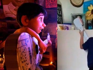 'Coco' de Pixar ha inspirado al pequeño Alexander