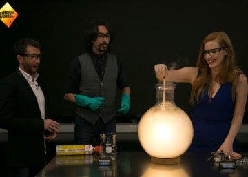 Jessica Chastain descubre el deslumbrante experimento de Marron