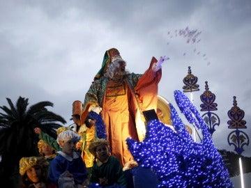 Cabalgata de Reyes Magos en Málaga