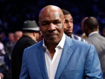 El exboxeador Mike Tyson