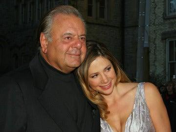 Paul Sorvino junto a su hija Mira Sorvino