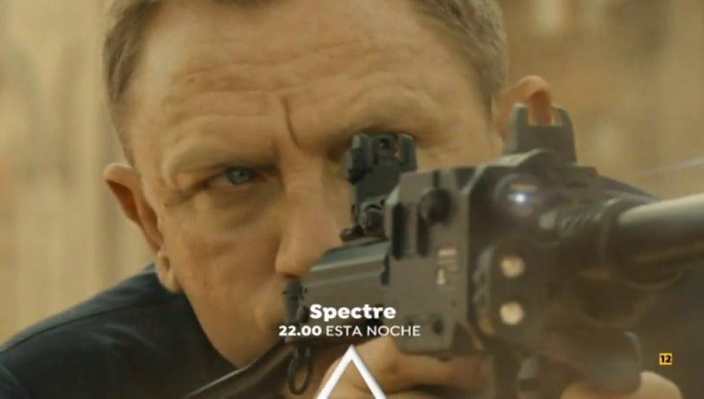 John Logan protagoniza 'Spectre' en Antena 3