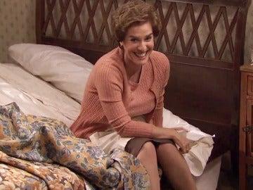 La cama de Susana se derrumba tras el paso de Benigna
