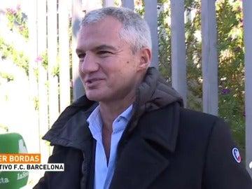 """Javier Bordas, directivo del Barcelona: """"No va a haber independencia y Messi se va a quedar siempre"""""""