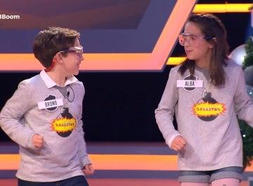 Alba y Bruno ponen ritmo a '¡Boom!' con el musical de Mecano
