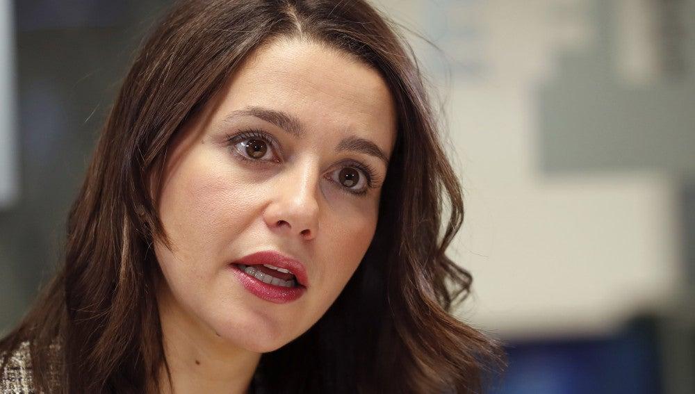La líder de Ciudadanos  en Cataluña, Inés Arrimadas, en una imagen de archivo