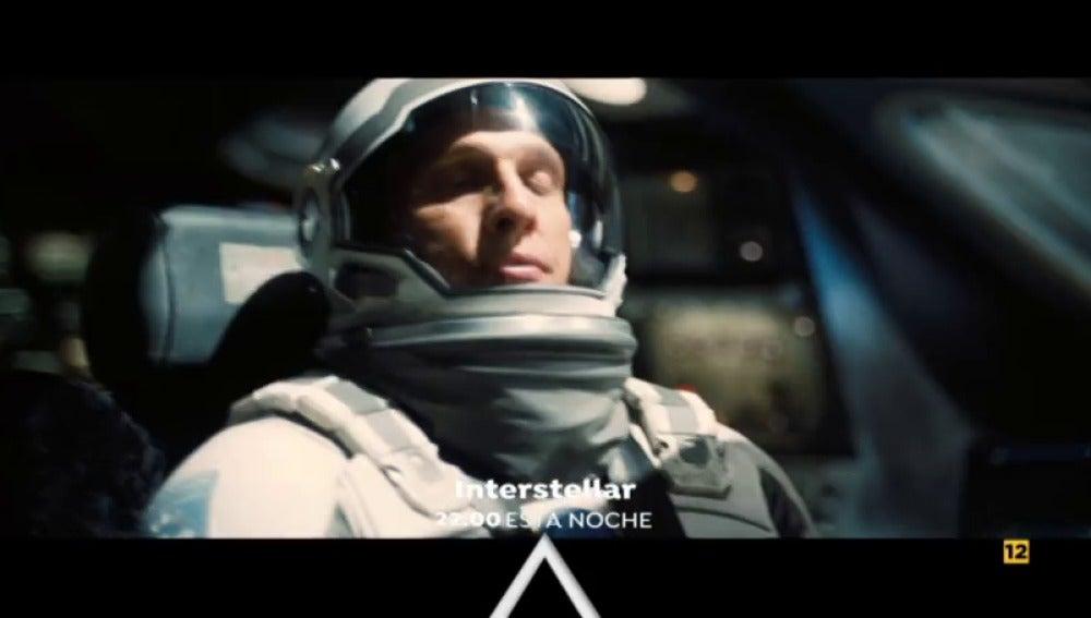 Antena 3 estrena 'Interstellar' con Matthew McConaughey