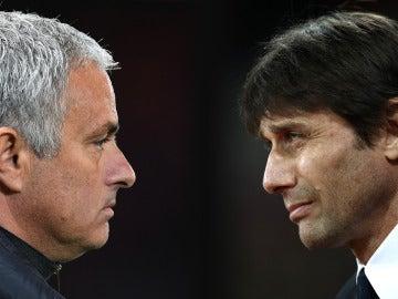 Mourinho y Conte, una relación complicada en la Premier