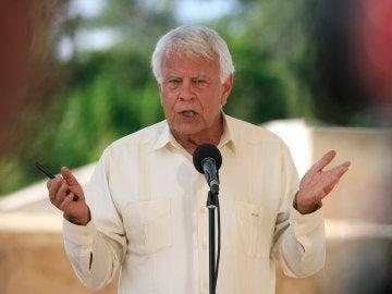 El expresidente del Gobierno español Felipe González