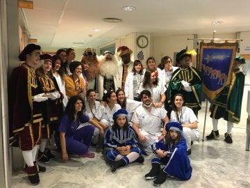 Los Reyes Magos en el Hospital Vall d'Hebrón