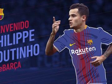 Coutinho, nuevo jugador del Barcelona
