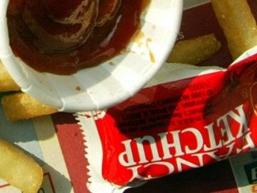 Sobre de ketchup