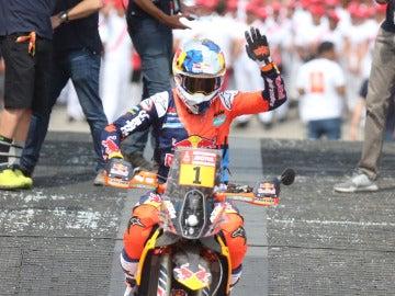 Sunderland se impone en la primera etapa del Dakar en motos